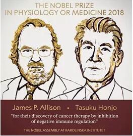 2018年诺贝尔生理学或医学奖获得者
